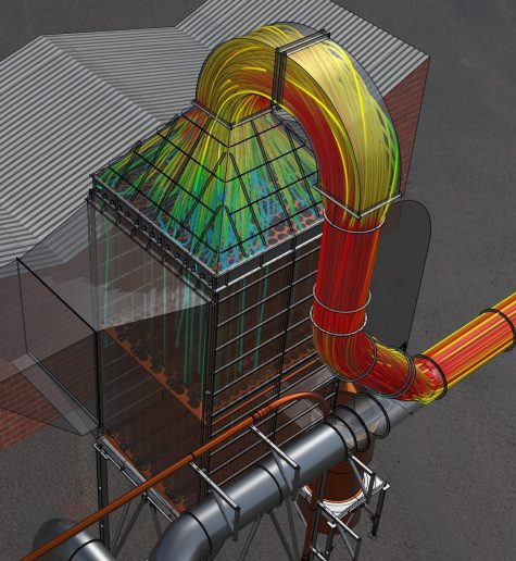 Simulare de flux CFD