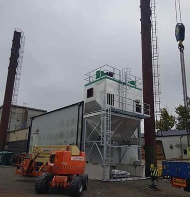 Filtrarea gazelor de ardere a cazanelor pe biomasă