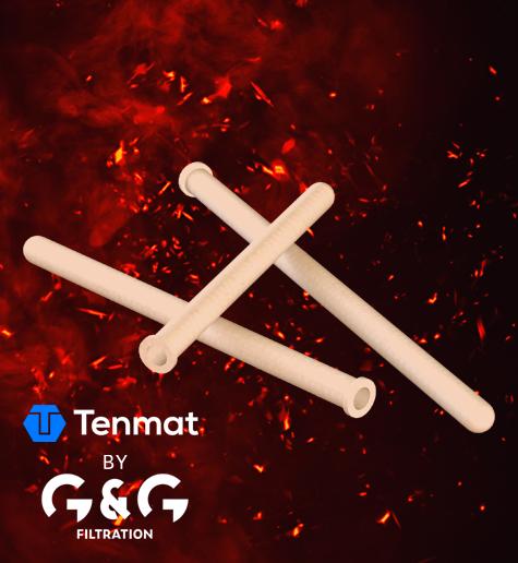 Elemente filtrante din ceramică pentru filtrarea gazelor de ardere fierbinți